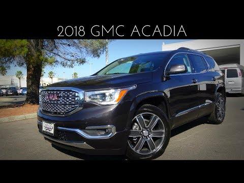 2018 GMC Acadia Denali Review & Test Drive 3.6 L V6