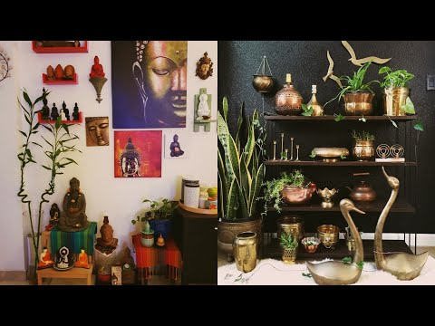 Low Budget Traditional Interior Decoration Ideas / Indian Traditional Home Decoration