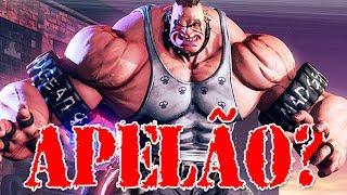 Abigail, o Gigante Apelão do Street Fighter 5