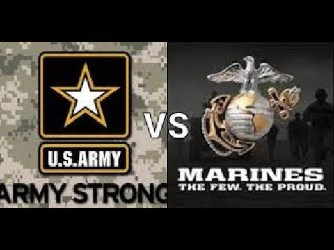 Army vs marines!!!!!!