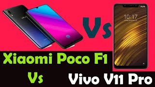 Xiaomi Poco F1 Vs Vivo V11 Pro comparison | Xiaomi Won Back My Opinion ??
