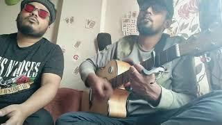 Mon majhi khobordar cover by Ave and Mahmood