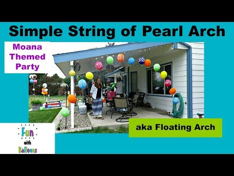Thumbnail: Simple String of Pearl Arch
