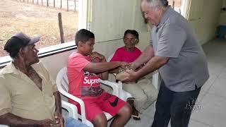 A associação comunitária de Bom Fim, realizou confraternização de Natal entre os associados