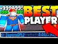 WORLDS BEST PLAYER SHARES SECRET TIPS & GLITCH!! - Roblox Super Power Training Simulator