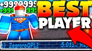 ¡MEJOR JUGADOR COMPARTIDO SENSOS SECRETOS & GLITCH!! - Roblox Super Power Training Simulator