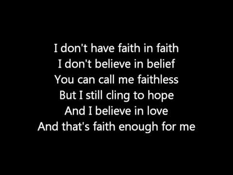 Rush-Faithless (Lyrics)