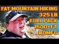 Morbidly Obese Man Climbs Mountain For Your Enjoyment!