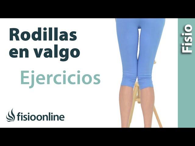 Ejercicio Y Estiramiento Para El Valgo En Las Rodillas Piernas En X Youtube