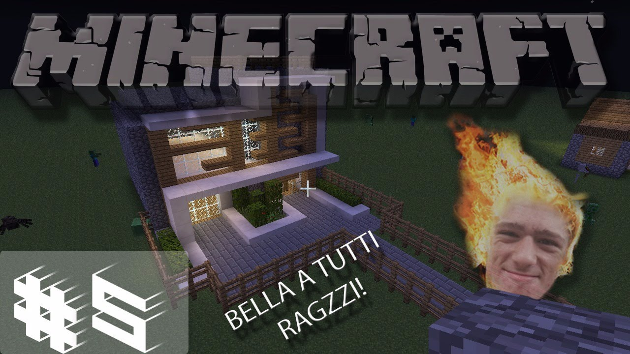 Minecraft fondamenta casa fatte 5 youtube - Fondamenta casa ...