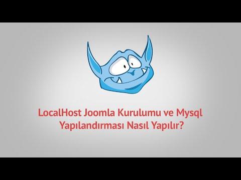 LocalHost Joomla Kurulumu Ve Mysql Yapılandırması Nasıl Yapılır? [ #2 ]