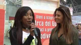 640 Cittaslow  & Daniela Ferolla al Salone del Gusto di Torino