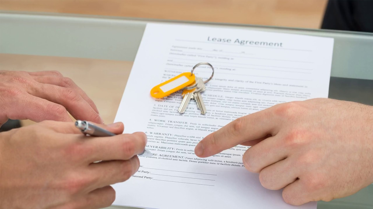 Cosigner Agreement Property Management Forms Youtube