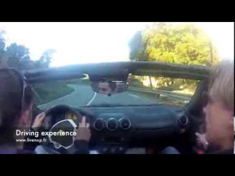 Lamborghini driving experience from Nice. - Video