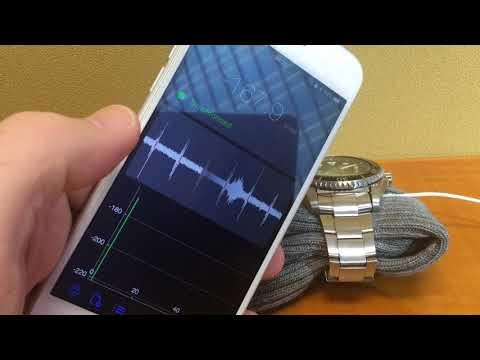 Hairspring: watch accuracy app