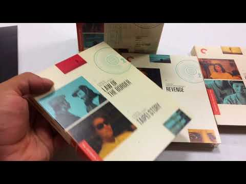 Criterion World Cinema Project Vol 2 Unboxing