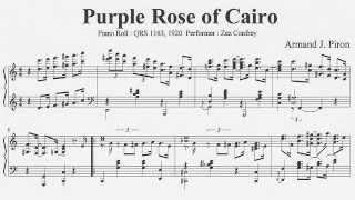 Armand J. Piron : Purple Rose of Cairo (1920)