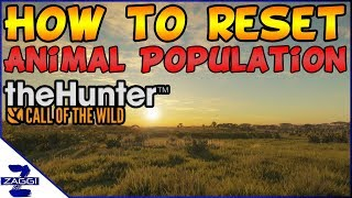 How to Reset Animal Population on PC Call of the Wild