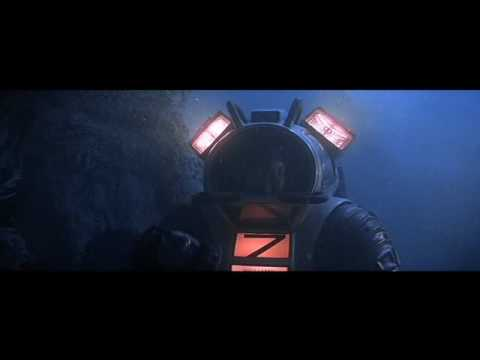 Amanda Pays in Hardshell diving suit from movie