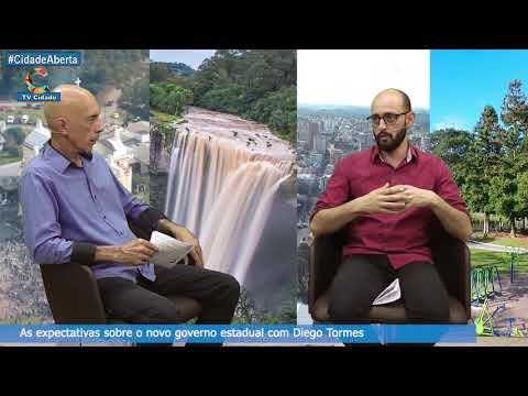 Diego Tormes com sua expectativa com relação ao PSDB em Farroupilha RS