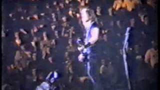Metallica Master Of Puppets Live Roma 16.11.1992