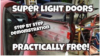Huge weight reduction for free! Easy DIY