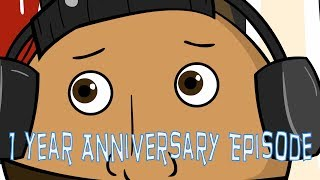 The Hard-Nosed Vet 1 Year Anniversary   The Joe Budden Podcast Cartoon