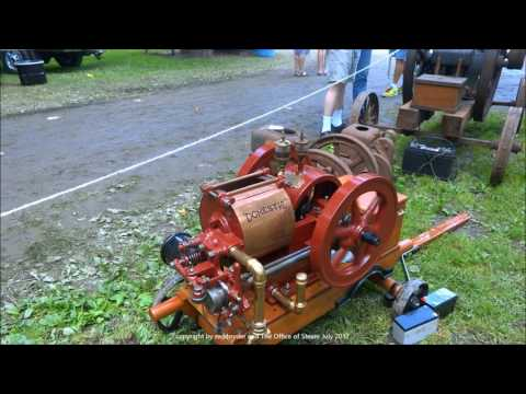 Gas and Steam Engines at the Jacktown Show 2017 Featuring New Holland Engines