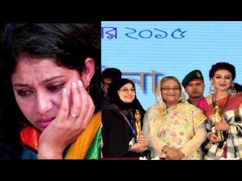 অনুষ্ঠানে শাবনূরকে ঢুকতে দেয়া হয়নি যে কারণে ! BD national film award 2015 !