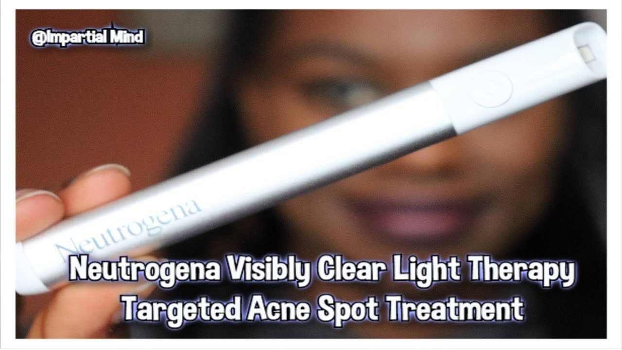 Neutrogena Visibly Clear Light Therapy Acne Treatment First