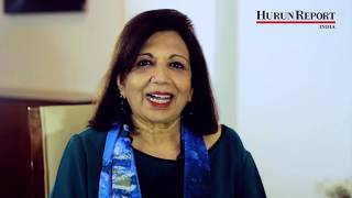 For every aspiring and growing entreprenHER, here's Kiran Mazumdar-Shaw​ with Hurun Report India