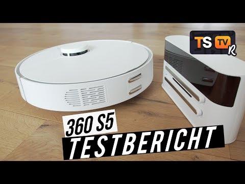 das-ist-der-360-s5-►-smart,-günstig,-extremes-biest-!- -saugroboter-test-deutsch