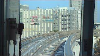 後方展望 2019.11.01 大阪高速鉄道 大阪モノレール線 千里中央駅~小路駅間