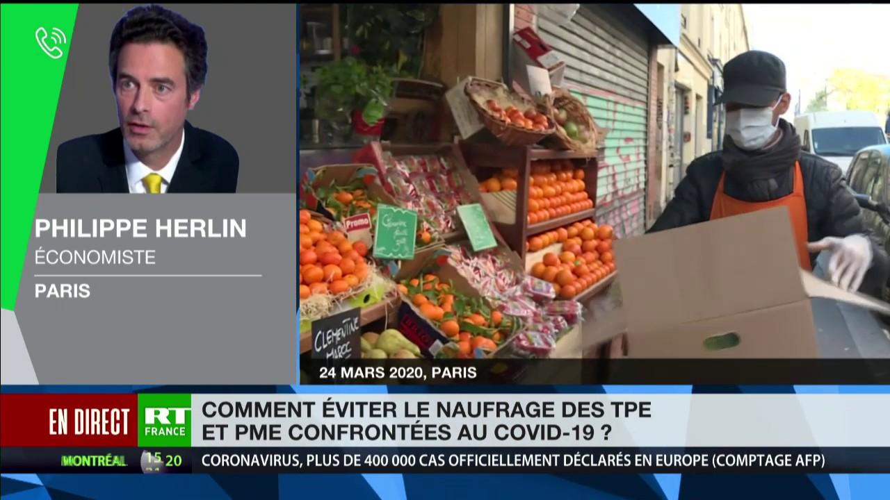 Crise du Coronavirus : «La France ne pourra pas vraiment aider ses entreprises à passer ce cap»