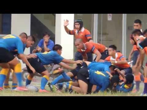 Rugby U19- รร.เตรียมทหาร พบ รร.ภปร. 07072556