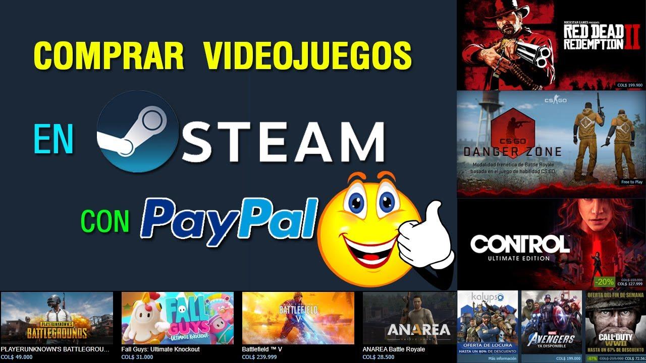 Como comprar juegos con paypal en steam | Facil y Sencillo
