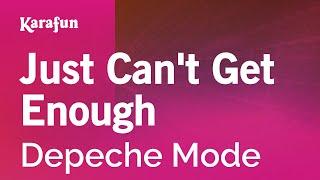 Karaoke Just Can't Get Enough - Depeche Mode *