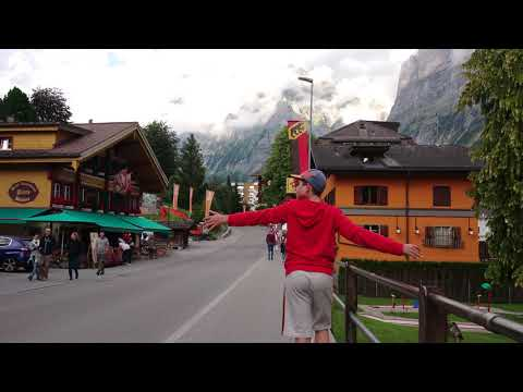Grindelwald in Switzerland Walking Tour 4K July 2020
