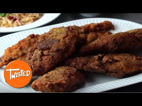 How To Make Jerk Fried Chicken At Home | Twisted