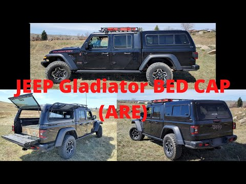 Jeep Gladiator ARE bed cap/Canopy/topper