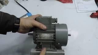 Як підключити однофазний двигун. Мій новий двигун для верстата
