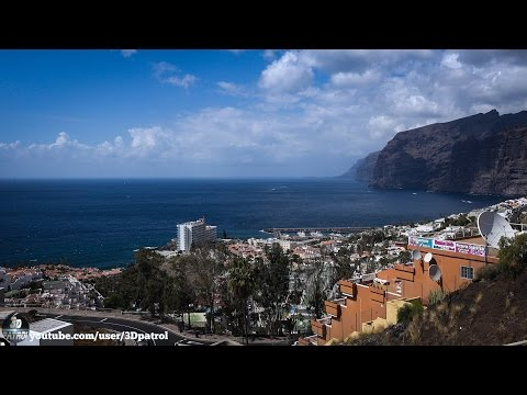 (4k) Los Gigantes, Tenerife, Canary Islands, Spain