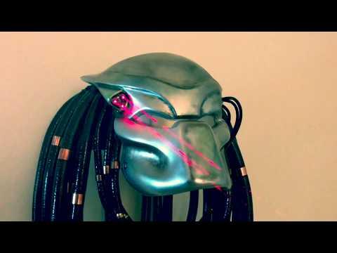 Making a Predator Bio Mask Resin Mask Helmet