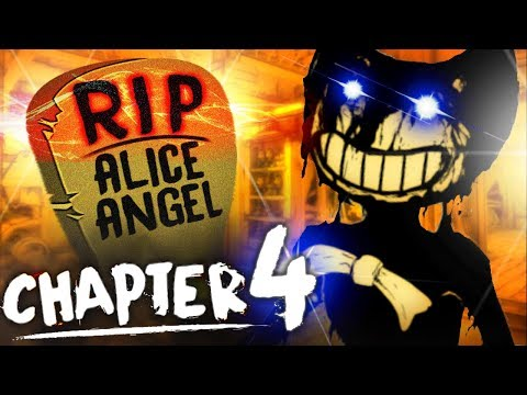 RIP Alice Angel | Bendy and the Ink Machine Chapter 4 (deutsch/german)