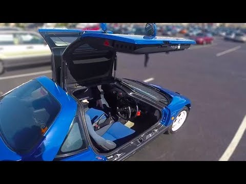 Driving An Autozam AZ 1 For The First Time