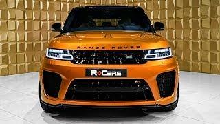 2020 Range Rover Sport SVR - V8 Supercharged SUV in Detail