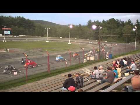 Bear Ridge Speedway #57 USAC Dirt Midget 7/27/2013 Part I