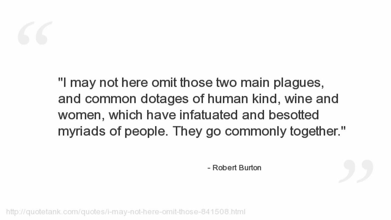 Robert Burton Quotes Youtube