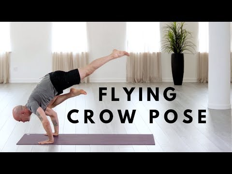 how you can do flying crow pose eka pada galavasana in