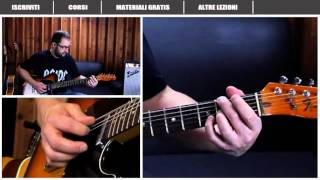 AC/DC - HIGHWAY TO HELL - ANGUS YOUNG - COME SUONARE - LEZIONE CHITARRA -TUTORIAL